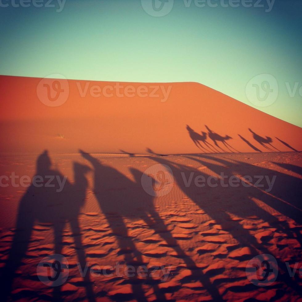 woestijn erg chebbi, marokko foto