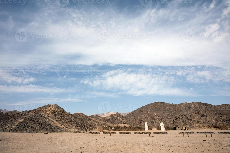 woestijn aard in Egypte reizen foto