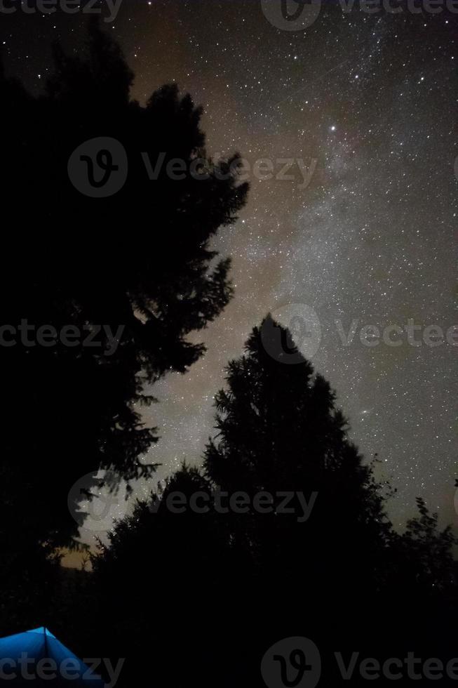 Melkweg tent foto