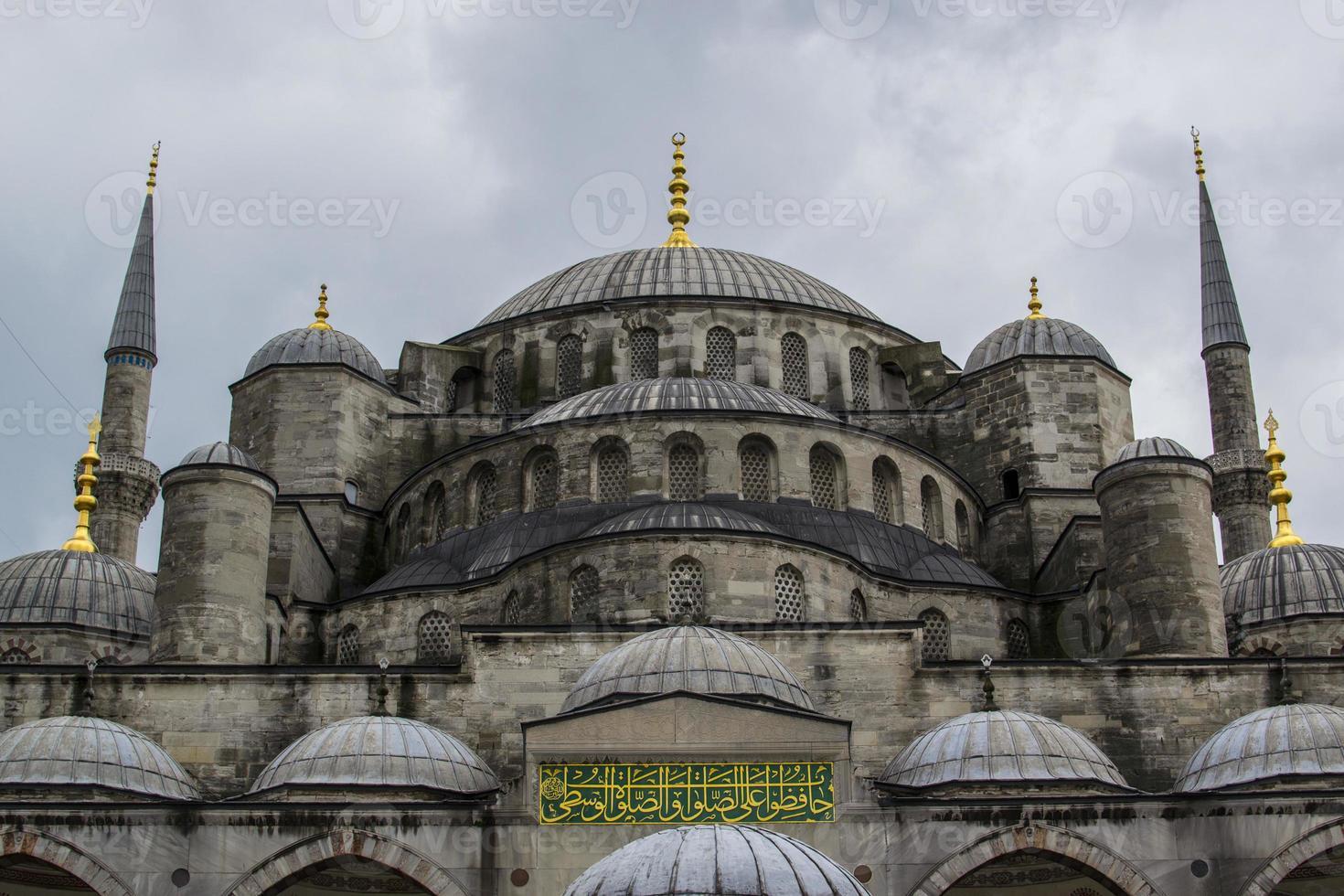 sultan ahmed moskee in istanbul, turkije foto