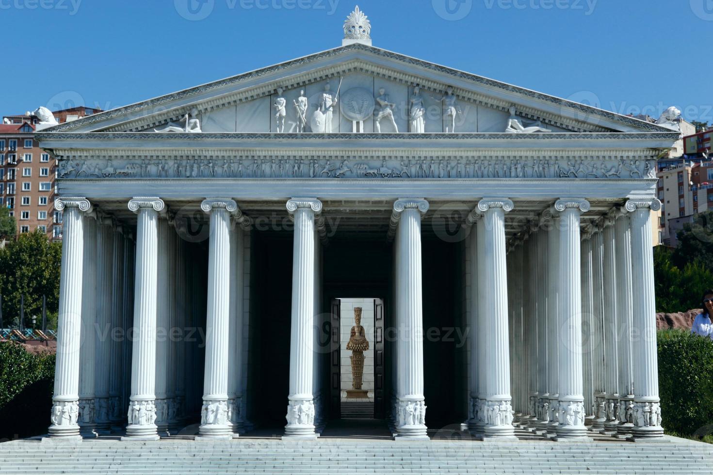 model van tempelartemis foto