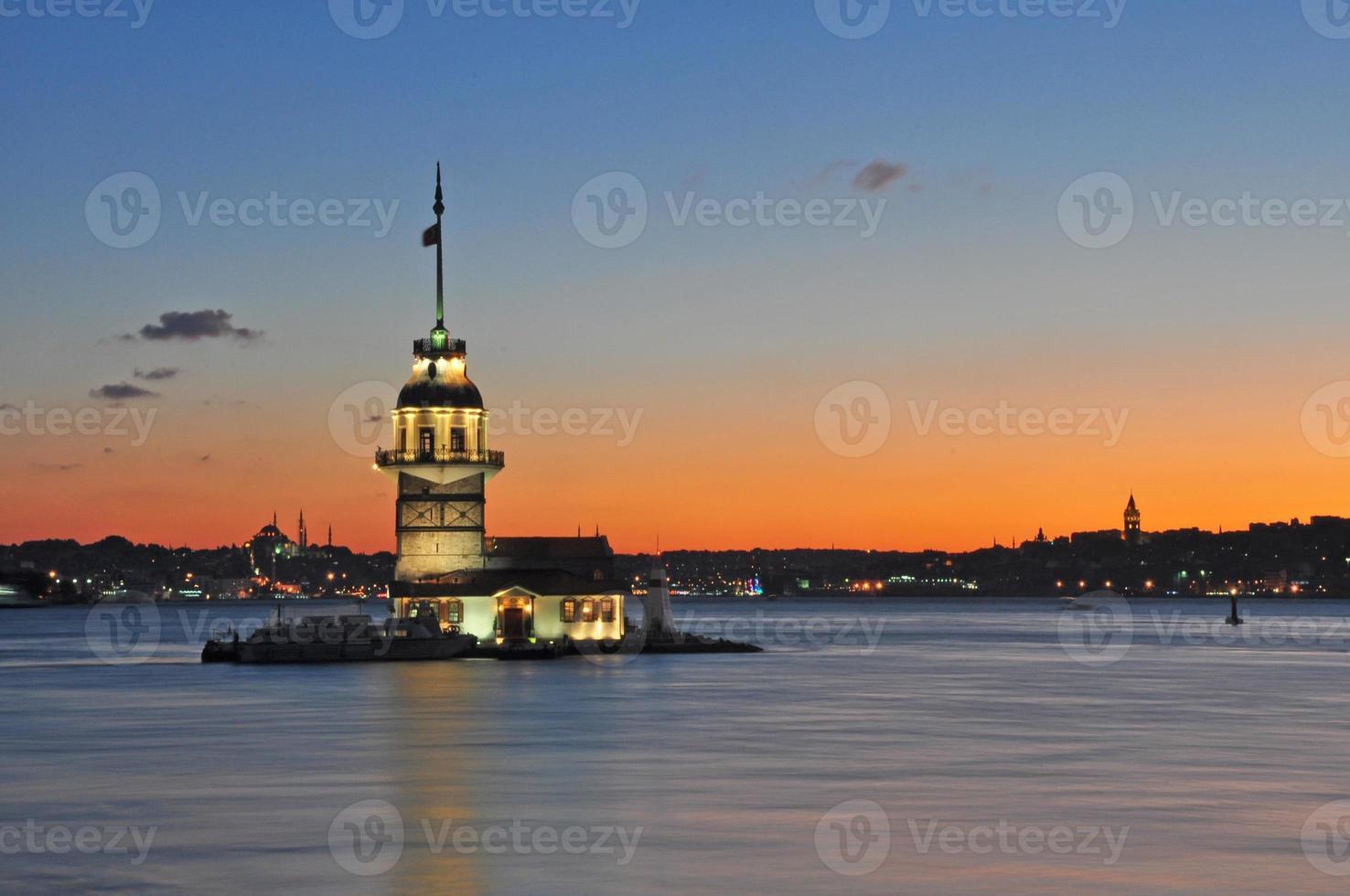 meisjestoren / kız kulesi foto