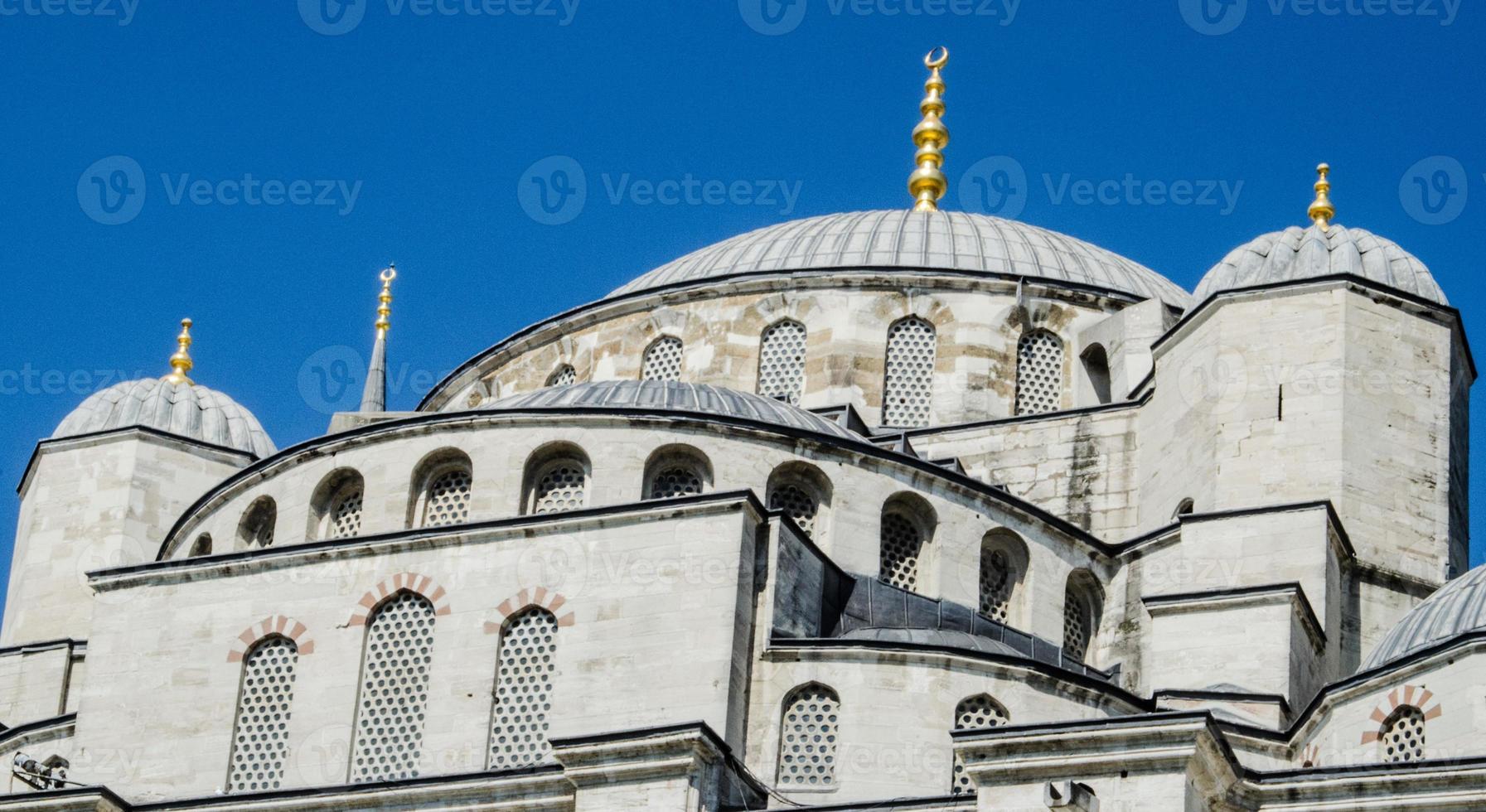 de blauwe moskee in istanbul foto