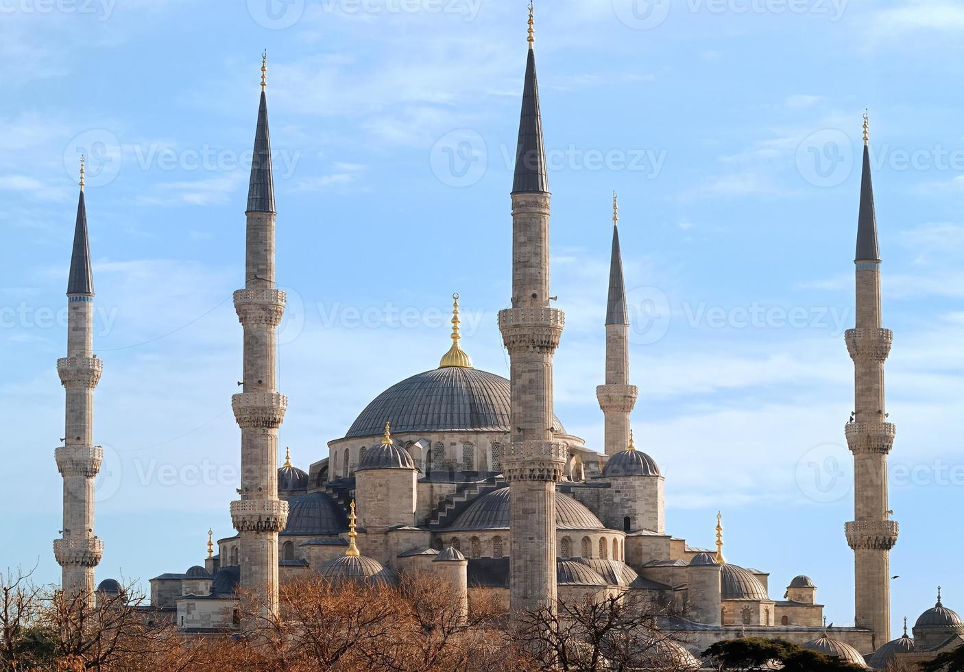 blauwe moskee van istanbul, turkije foto