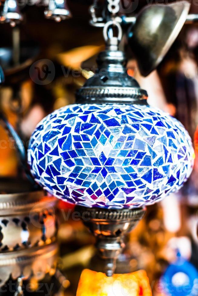 Arabische lamp foto