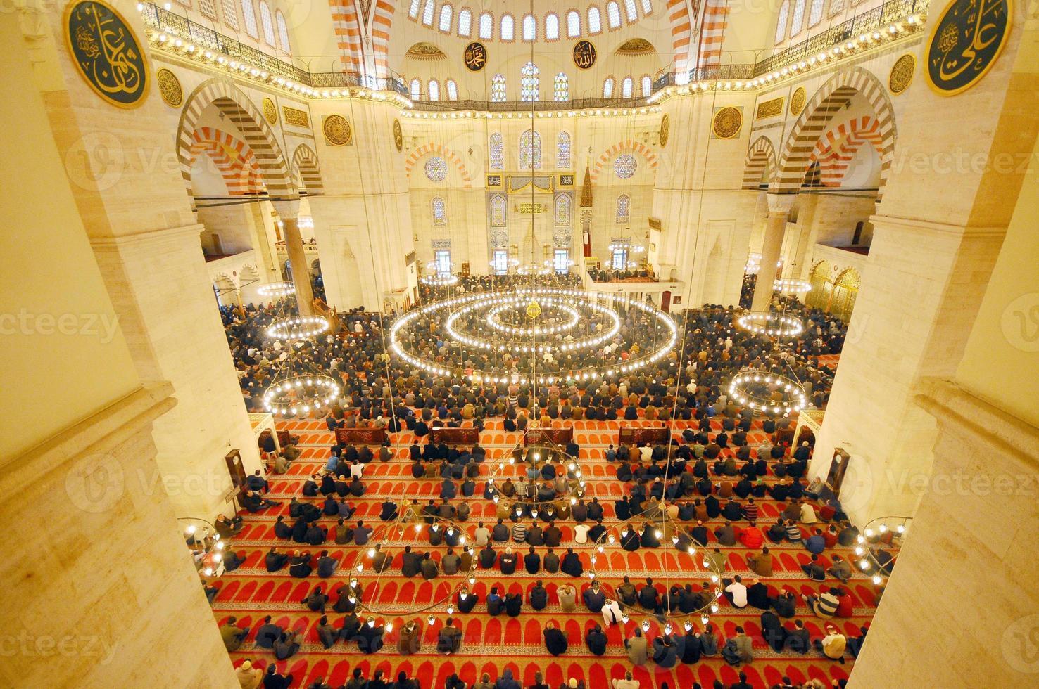 Suleymaniye-moskee, Turkije foto