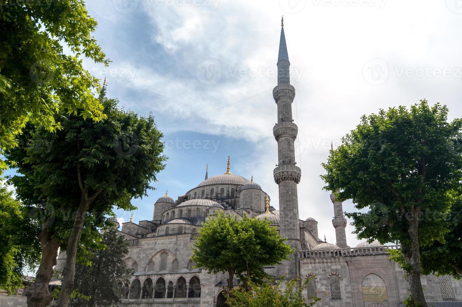 blauwe Moskee foto