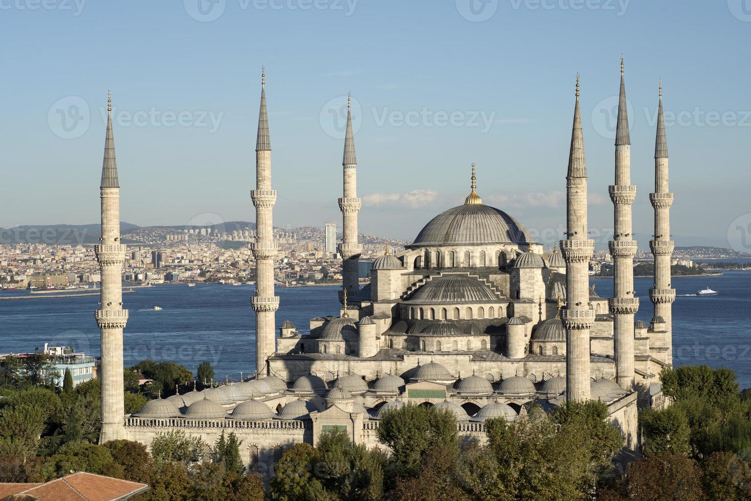 blauwe moskee (sultanahmet-moskee) foto