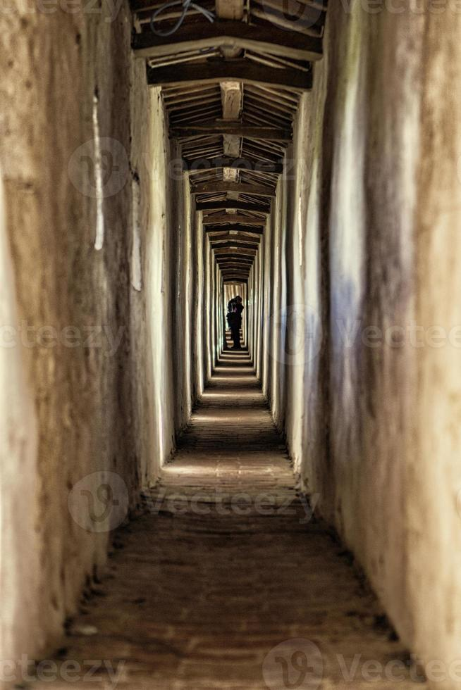 binnen kasteel in castiglione del lago - umbrië, Italië foto