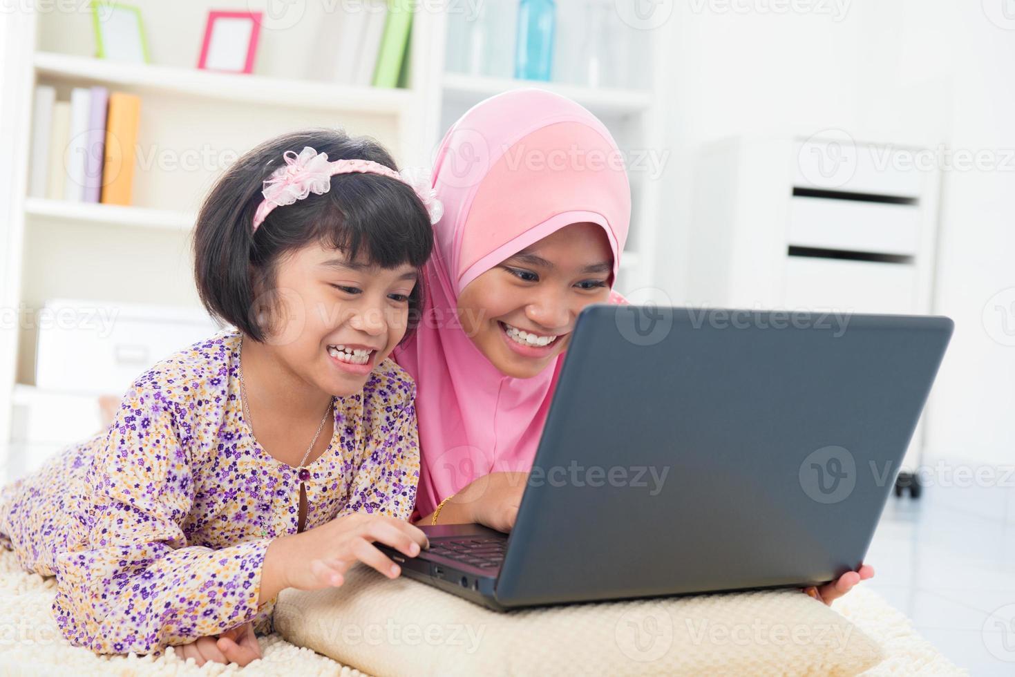 moslim familie foto