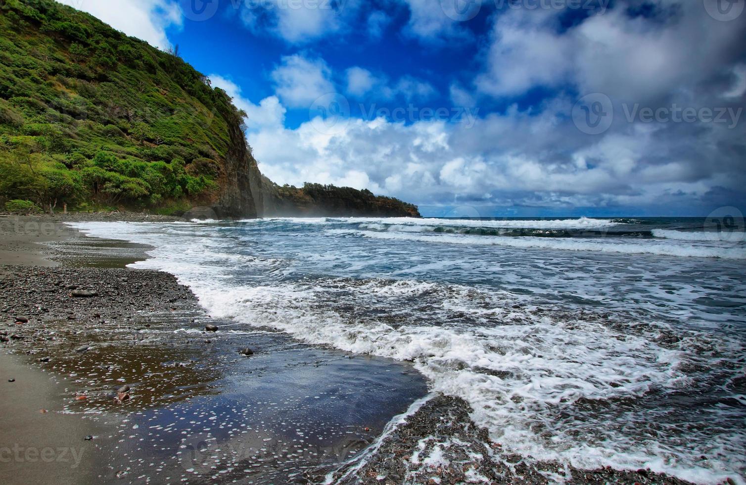 pololu valleizicht in hawaii foto