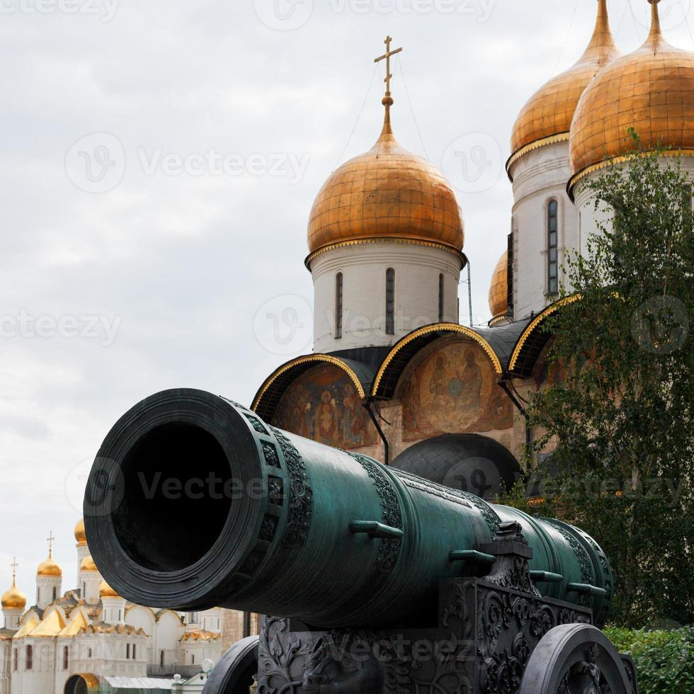 tsaarkanon en dormition kathedraal, Moskou foto