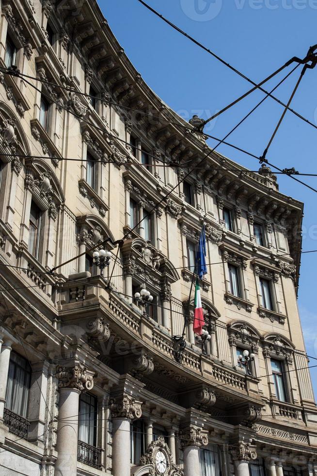 historisch centrum van Milaan foto