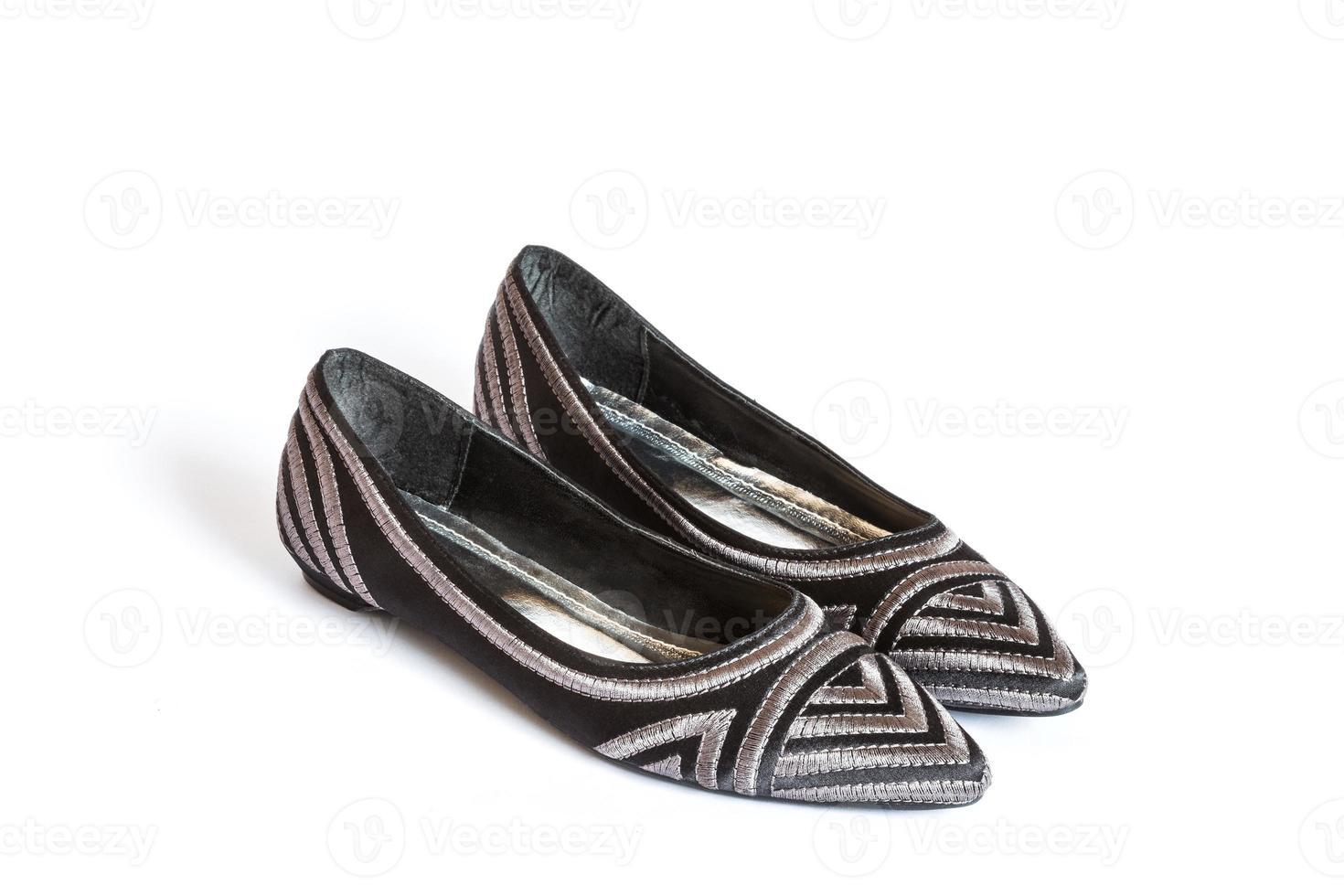 vrouwelijke leren schoenen foto