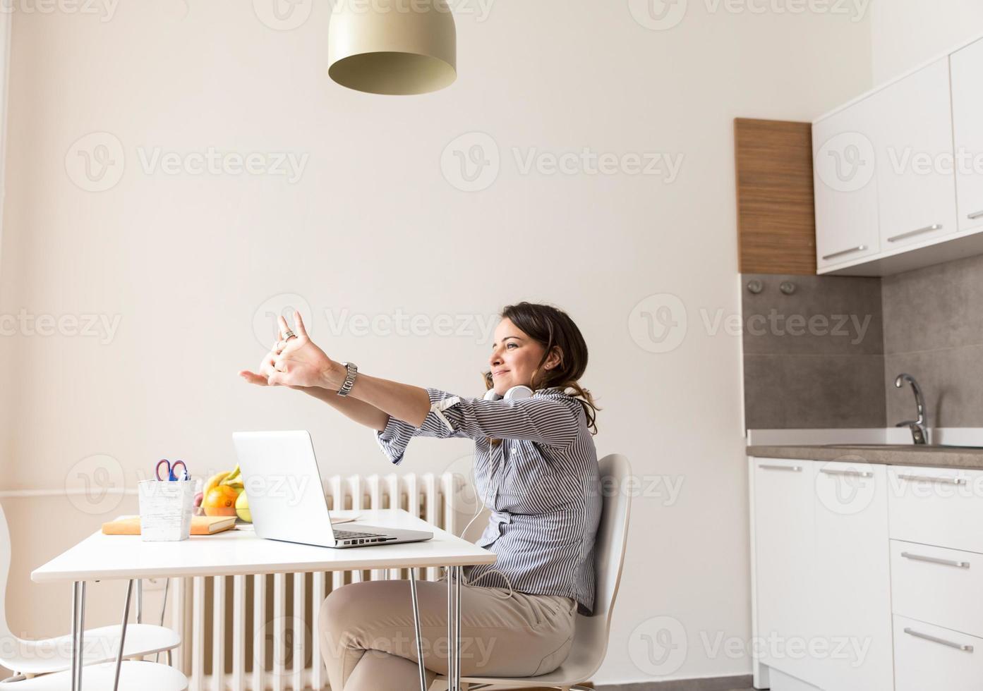 vrouwelijke blogger foto