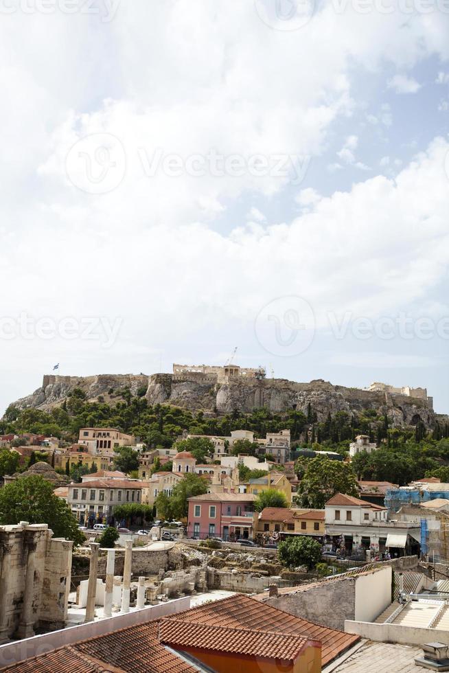 Athene Akropolis Parthenon foto