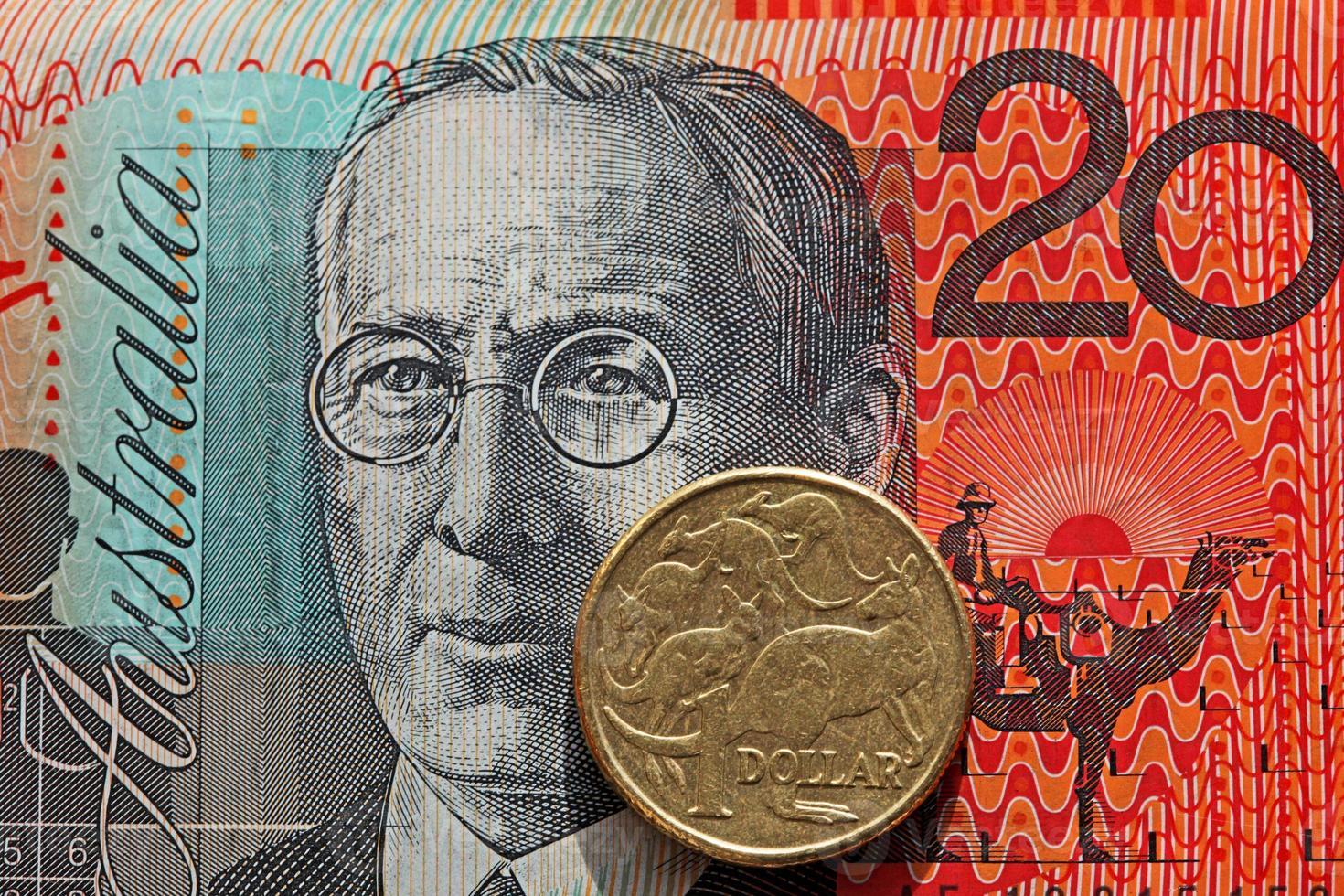 Australisch geld foto