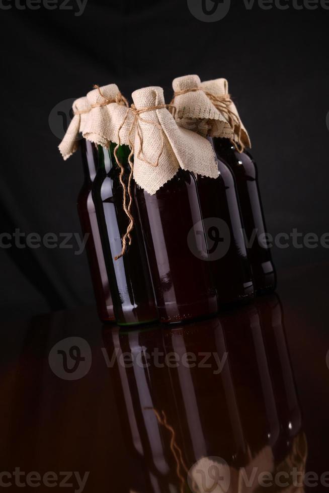 zelfgebrouwen bier foto