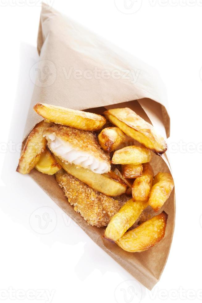 Fish and chips. foto