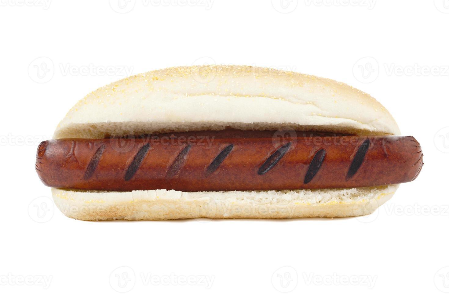 broodje hotdog foto