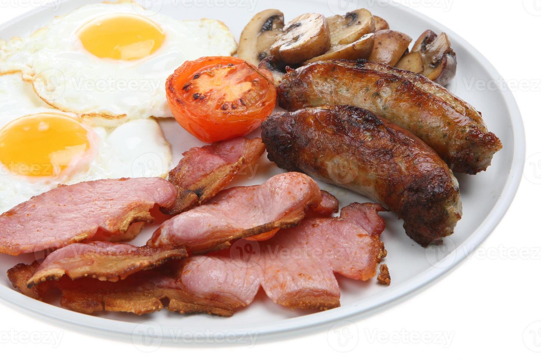 gekookt ontbijt foto