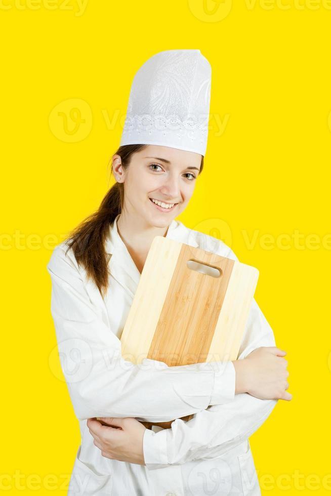 vrouwelijke kok foto