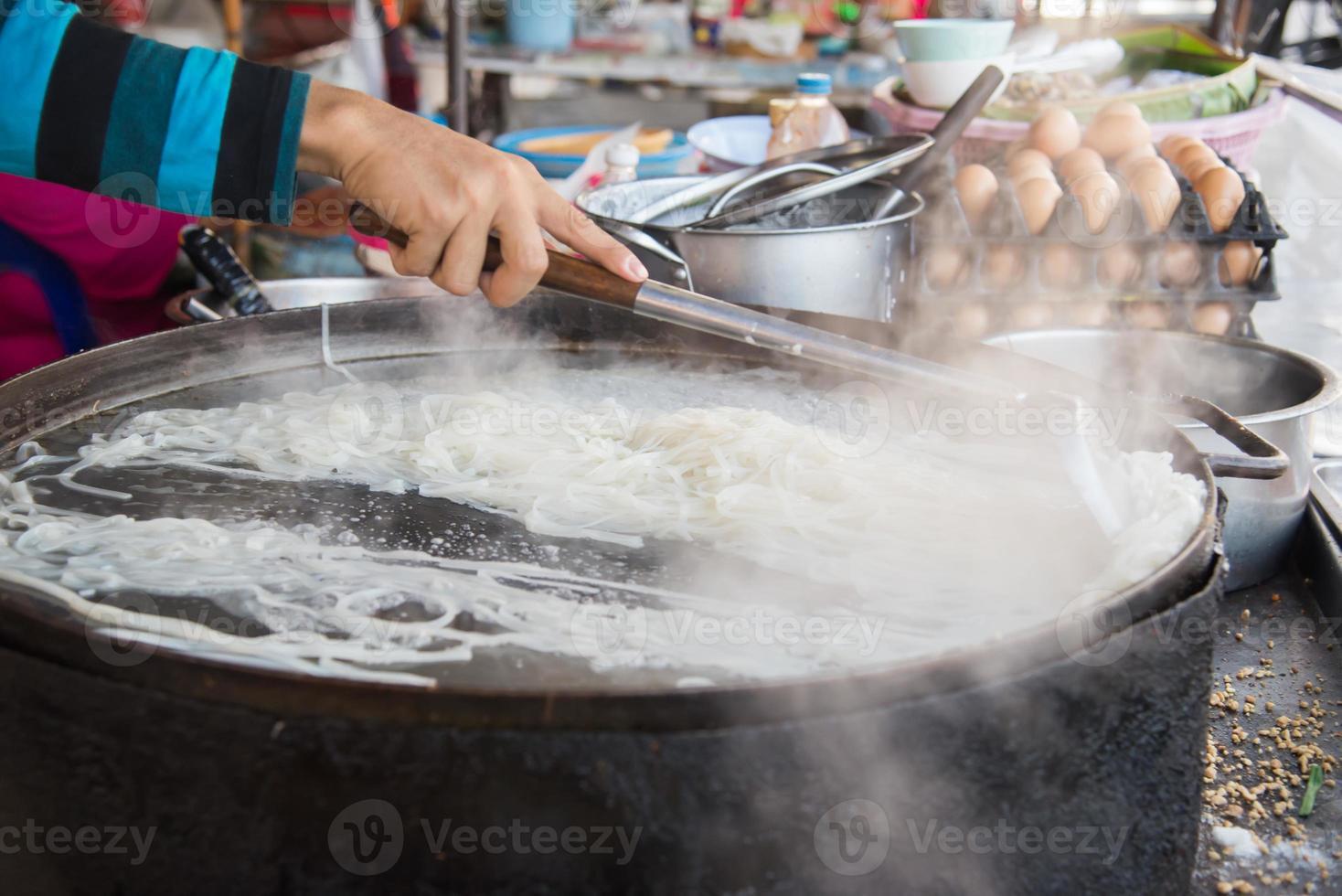 mensen koken. foto