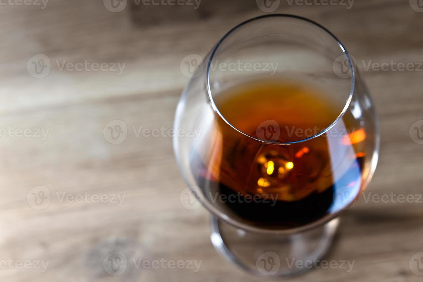 borrel met cognac foto