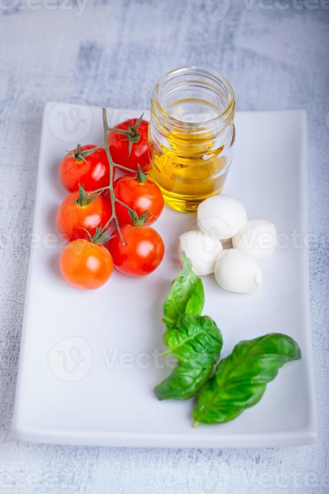 caprese salade ingrediënten foto