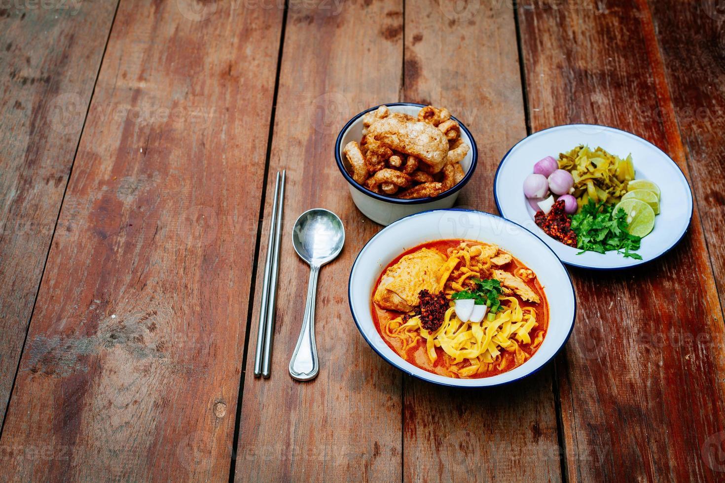 Thais eten (Noord-Thais) foto