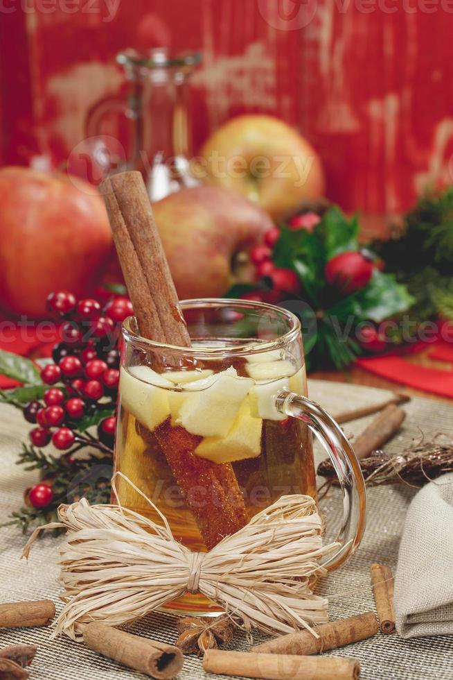 kerst cider foto
