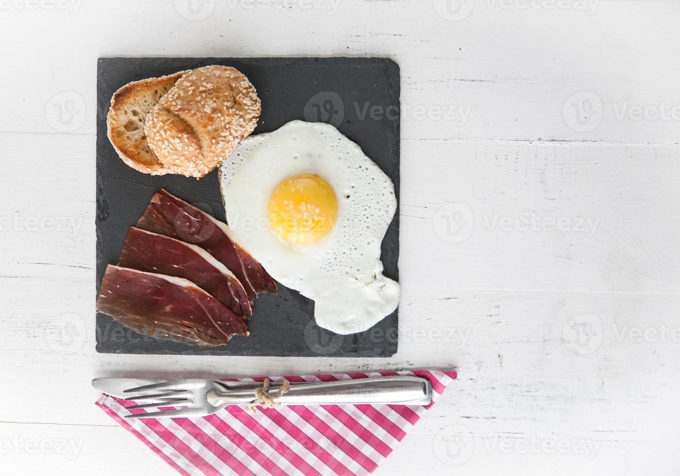 compleet ontbijt foto