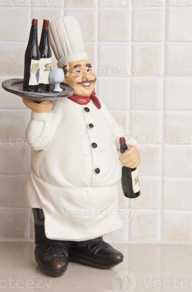 miniatuur van de chef foto