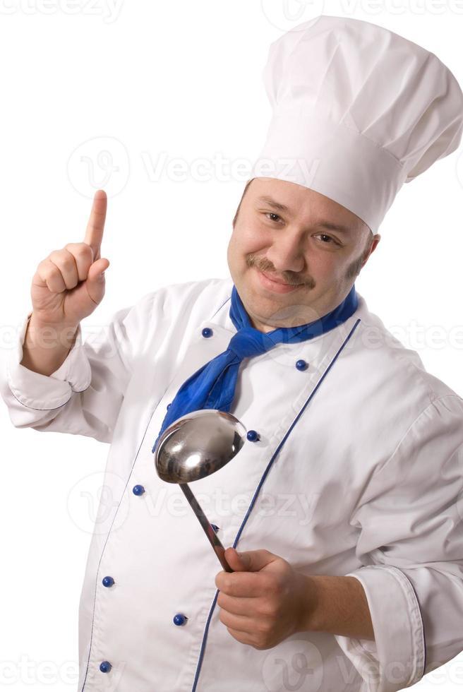 aantrekkelijke kok foto