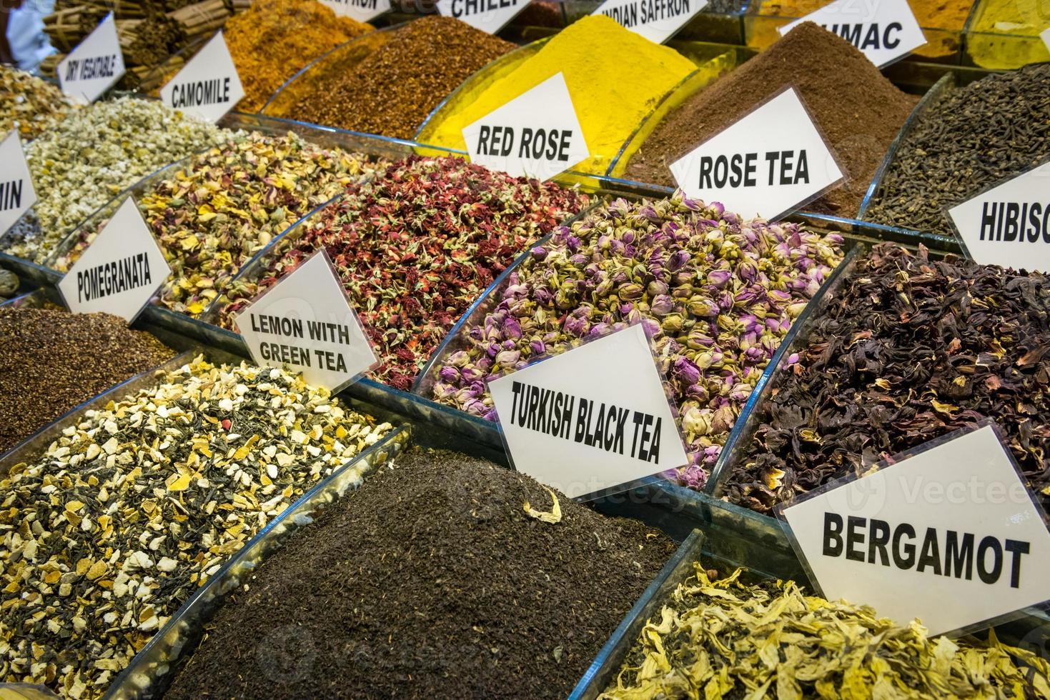 Turkse bazaar foto