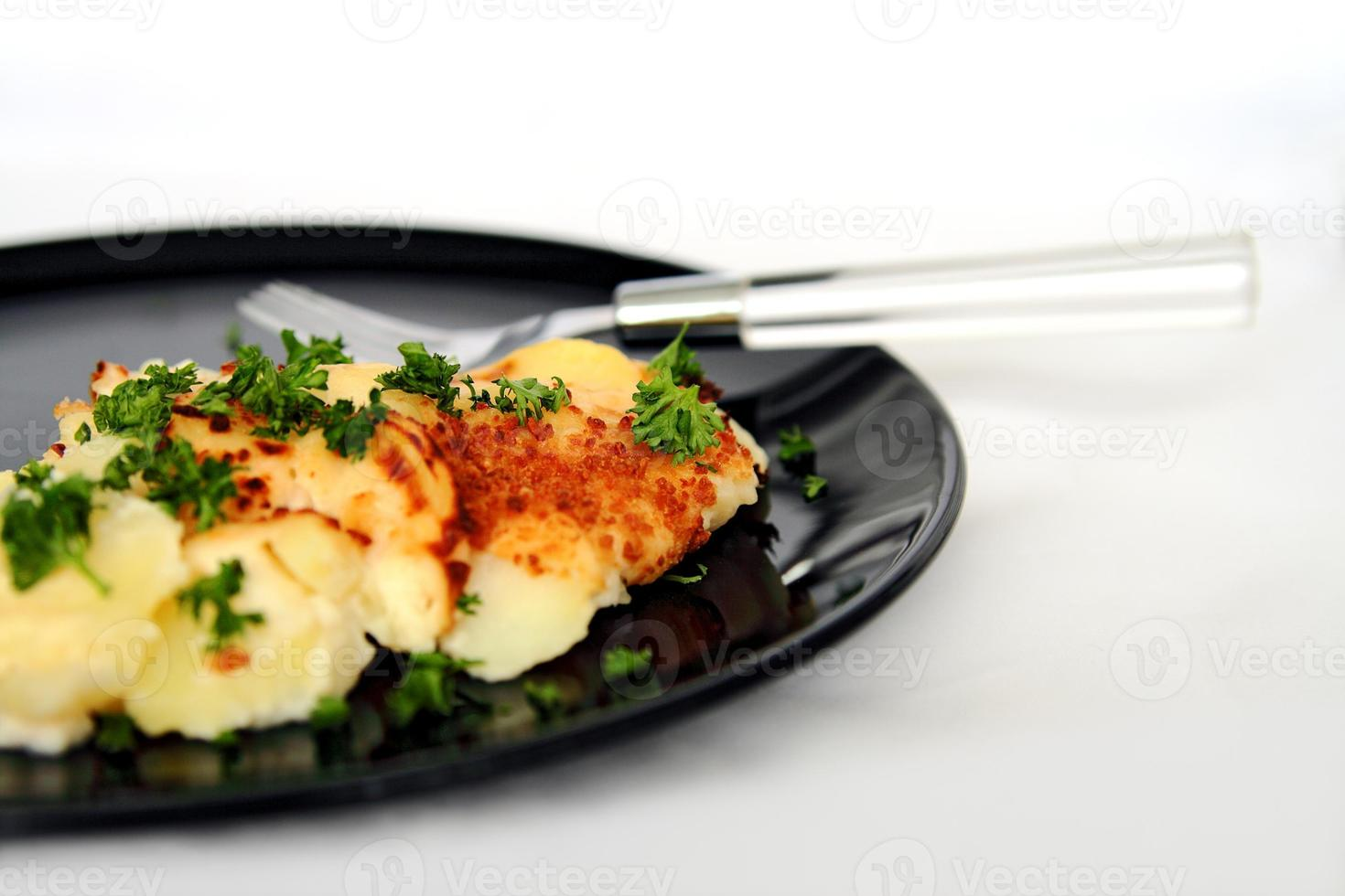 geschulpte aardappelen foto