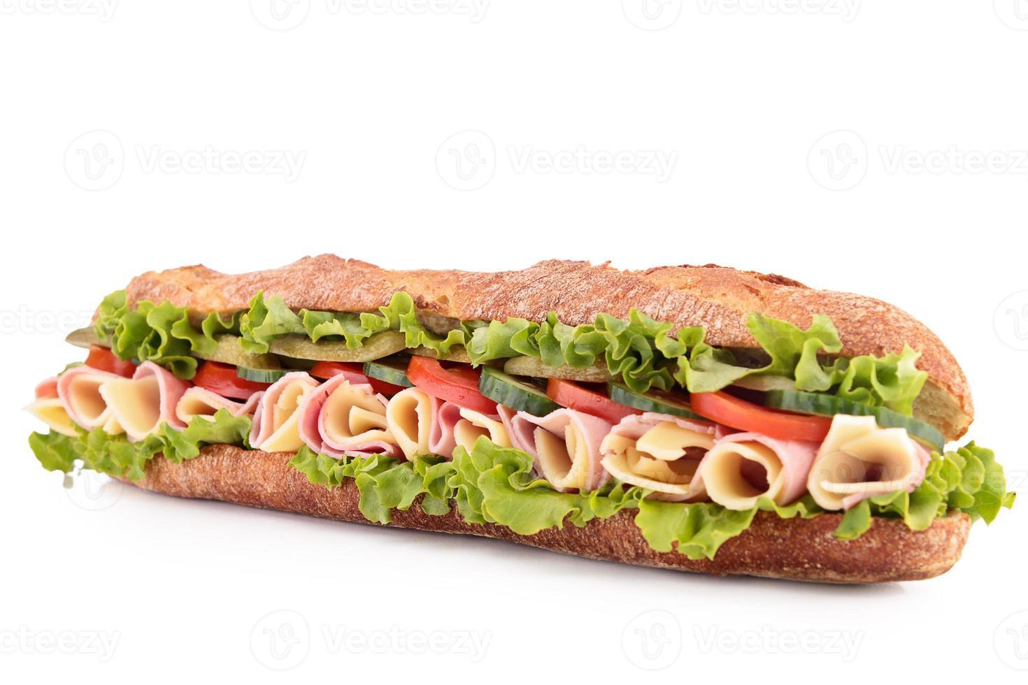 belegd broodje foto