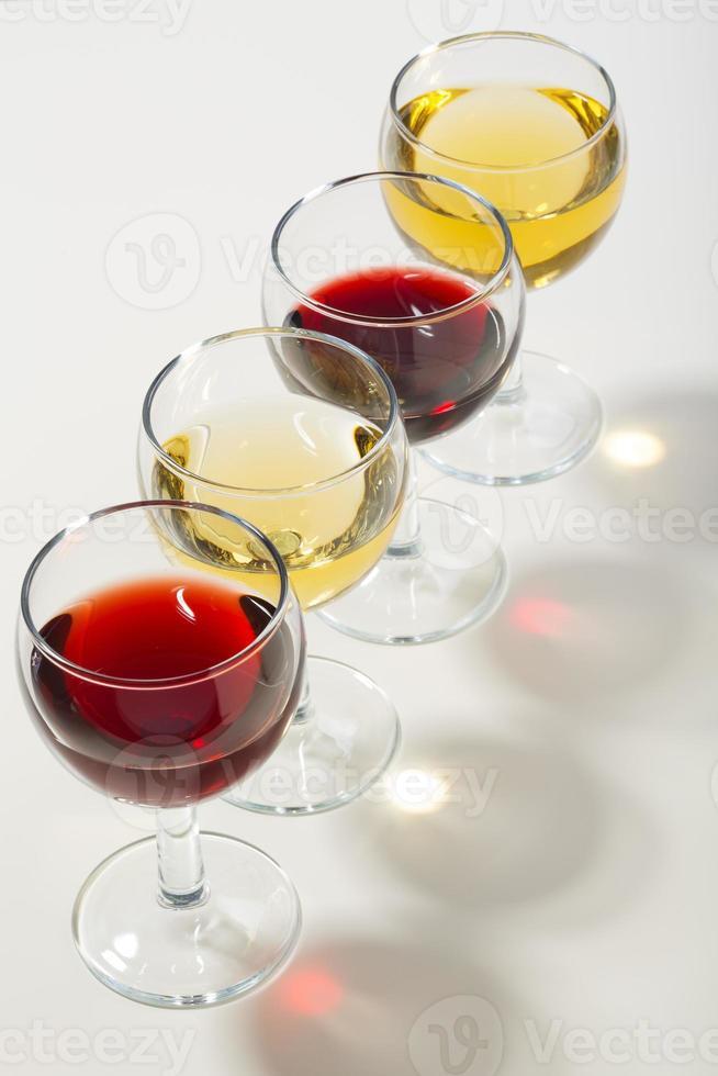 de kleur van wijn. foto