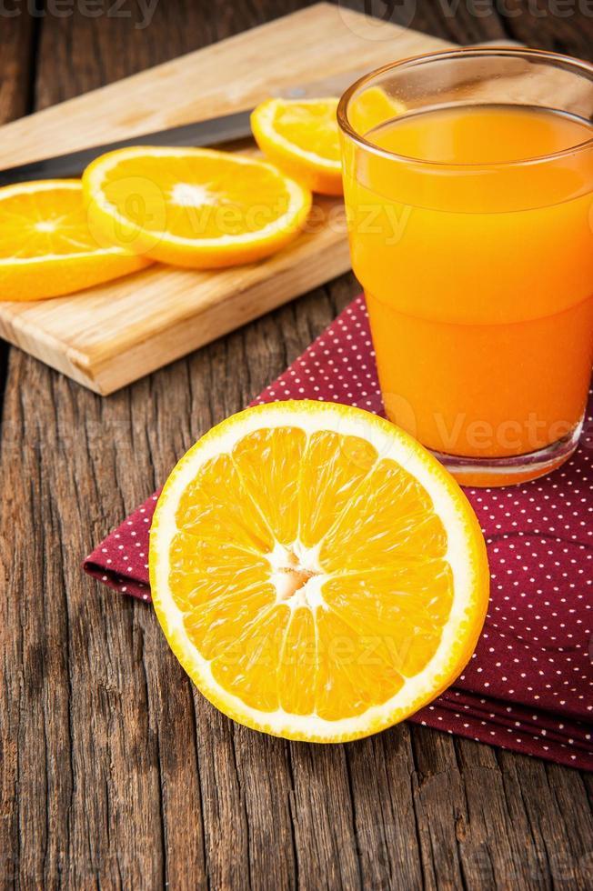 rijp oranje foto