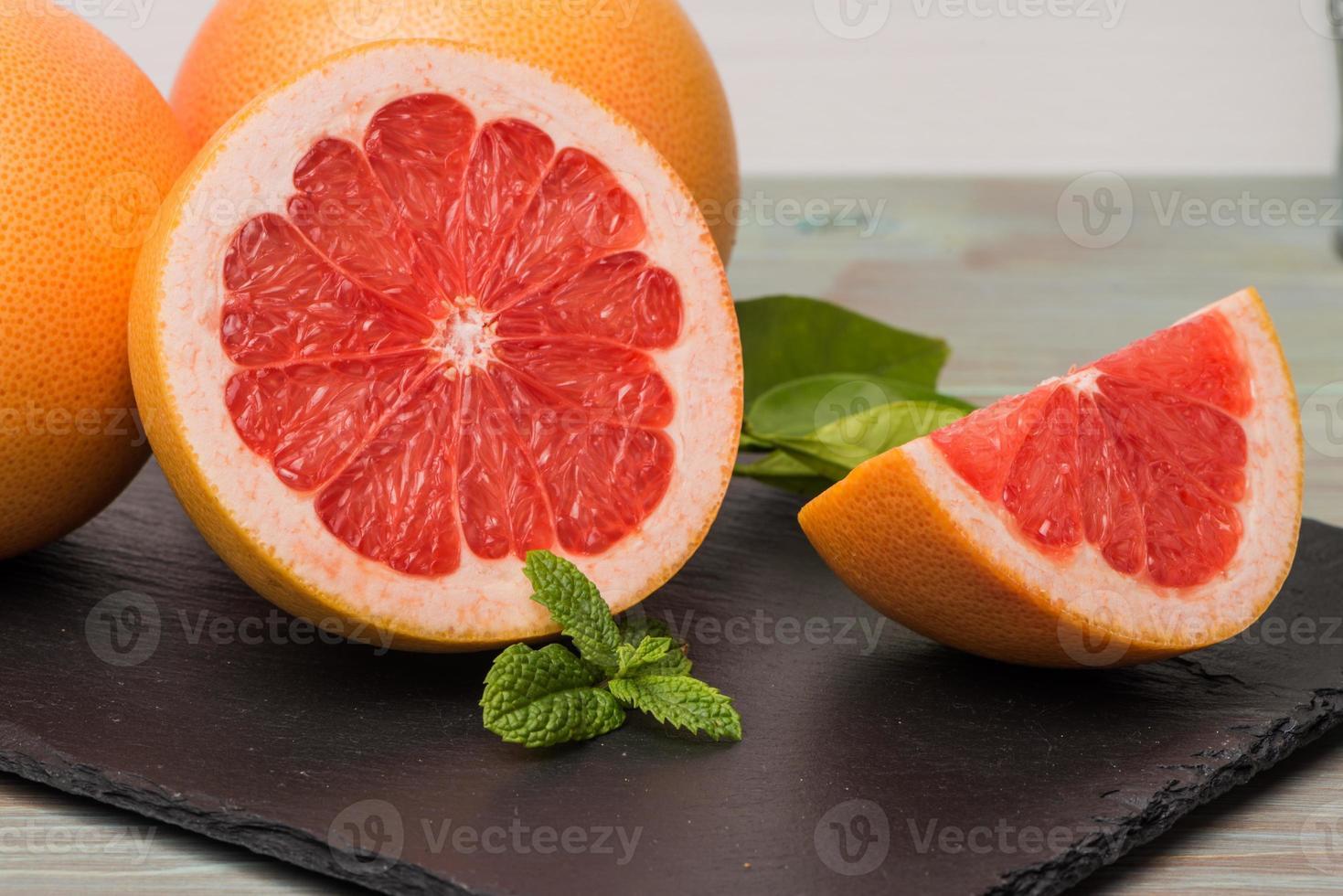 rijpe grapefruit foto