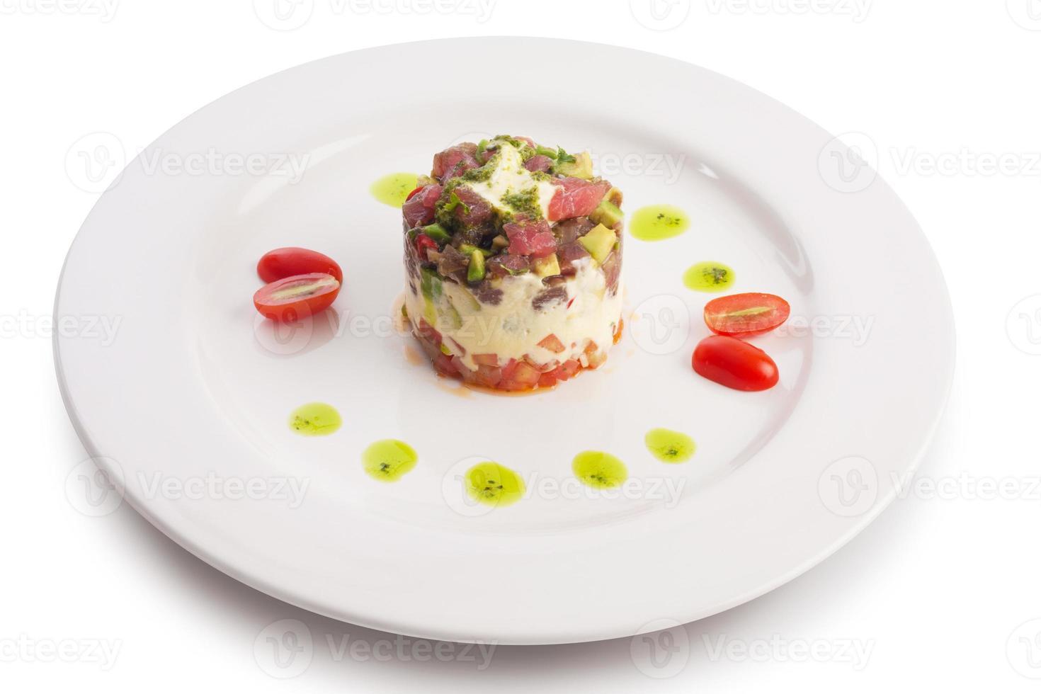 tonijn tartaar foto