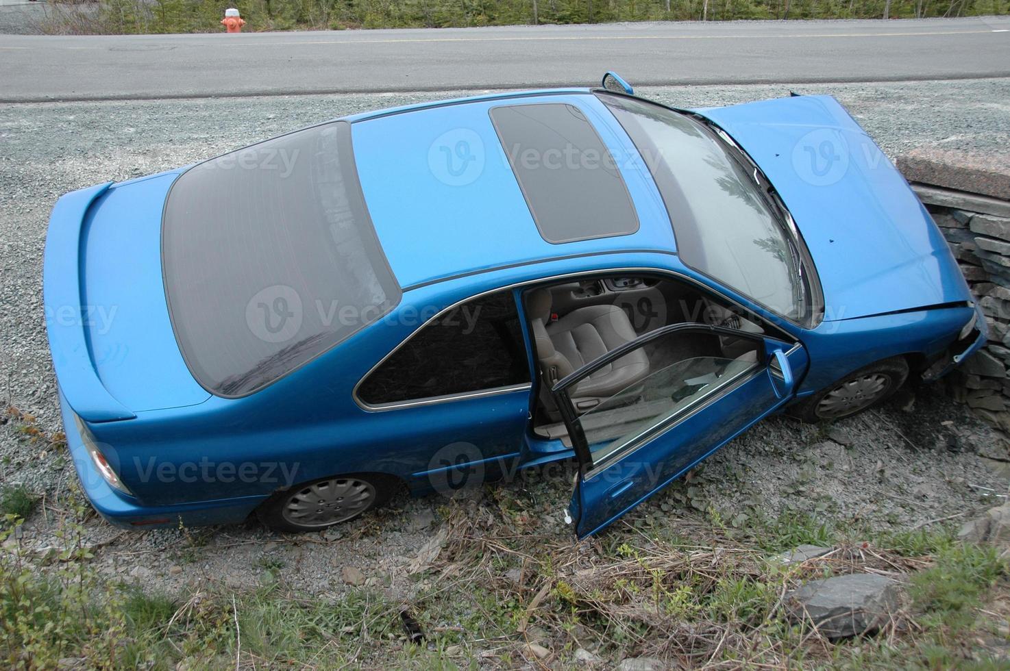 auto ongeluk foto