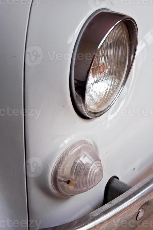 Fiat 500, vintage Italiaanse auto's foto