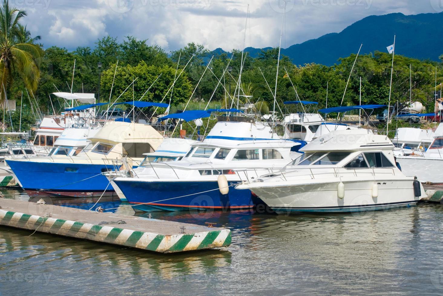 jachthaven in Puerto Vallarta, Mexico foto