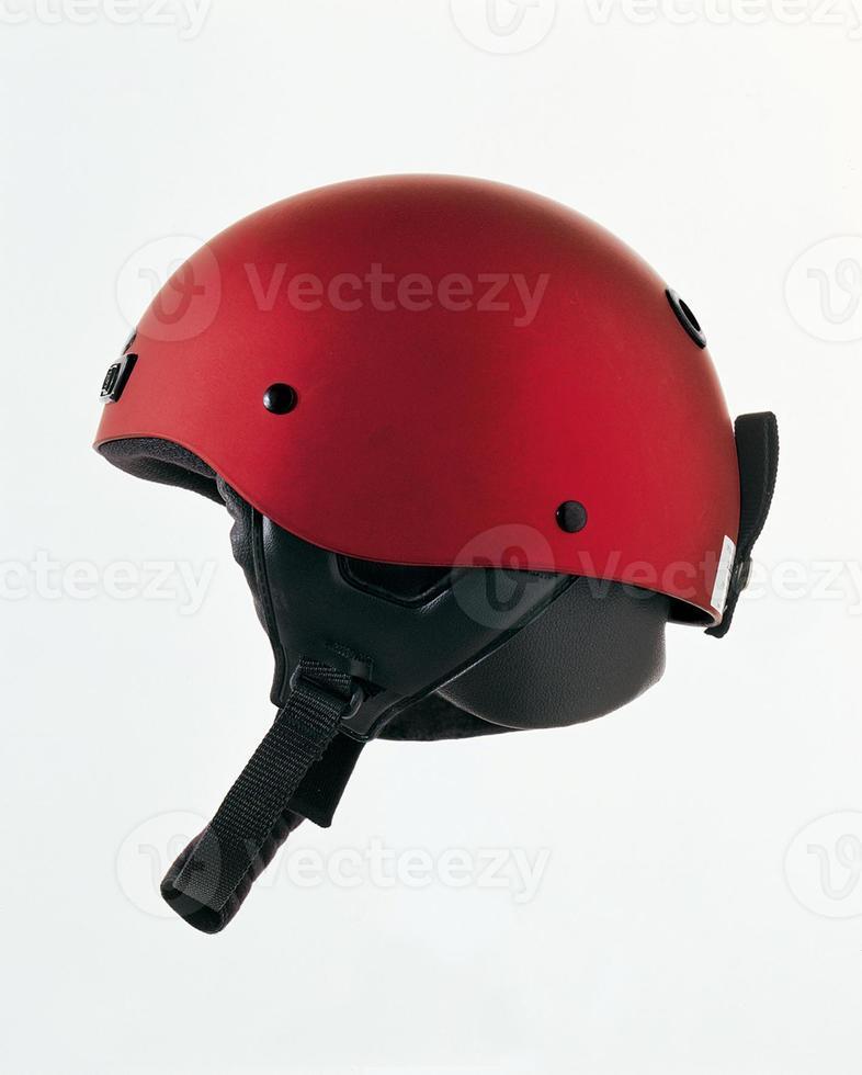 rode helm foto