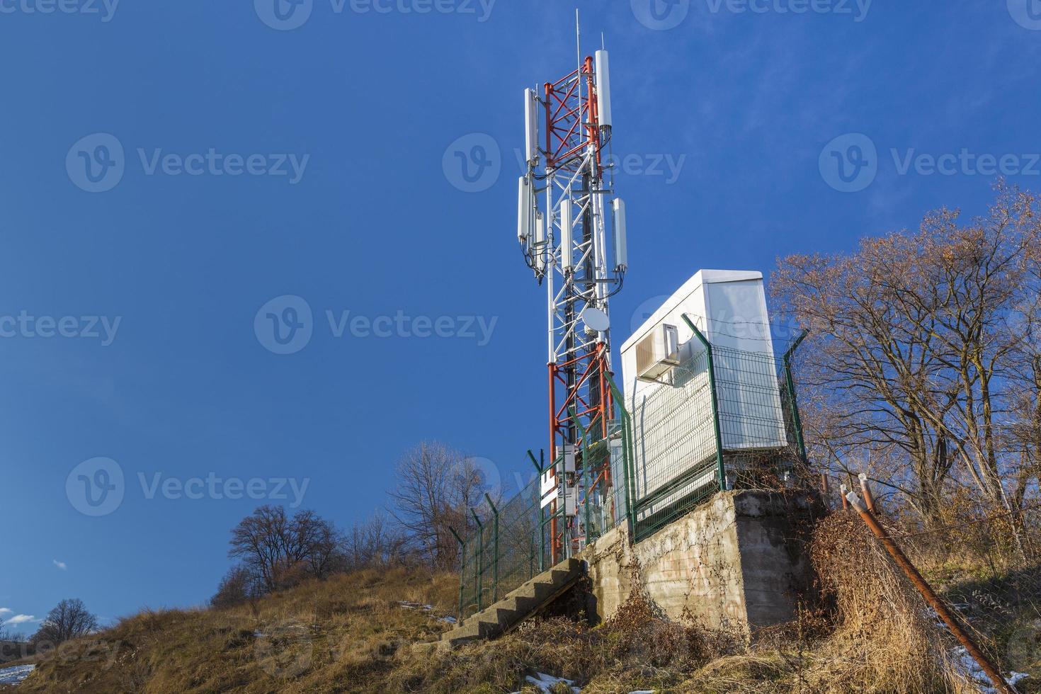 telecommunicatie anthenna foto