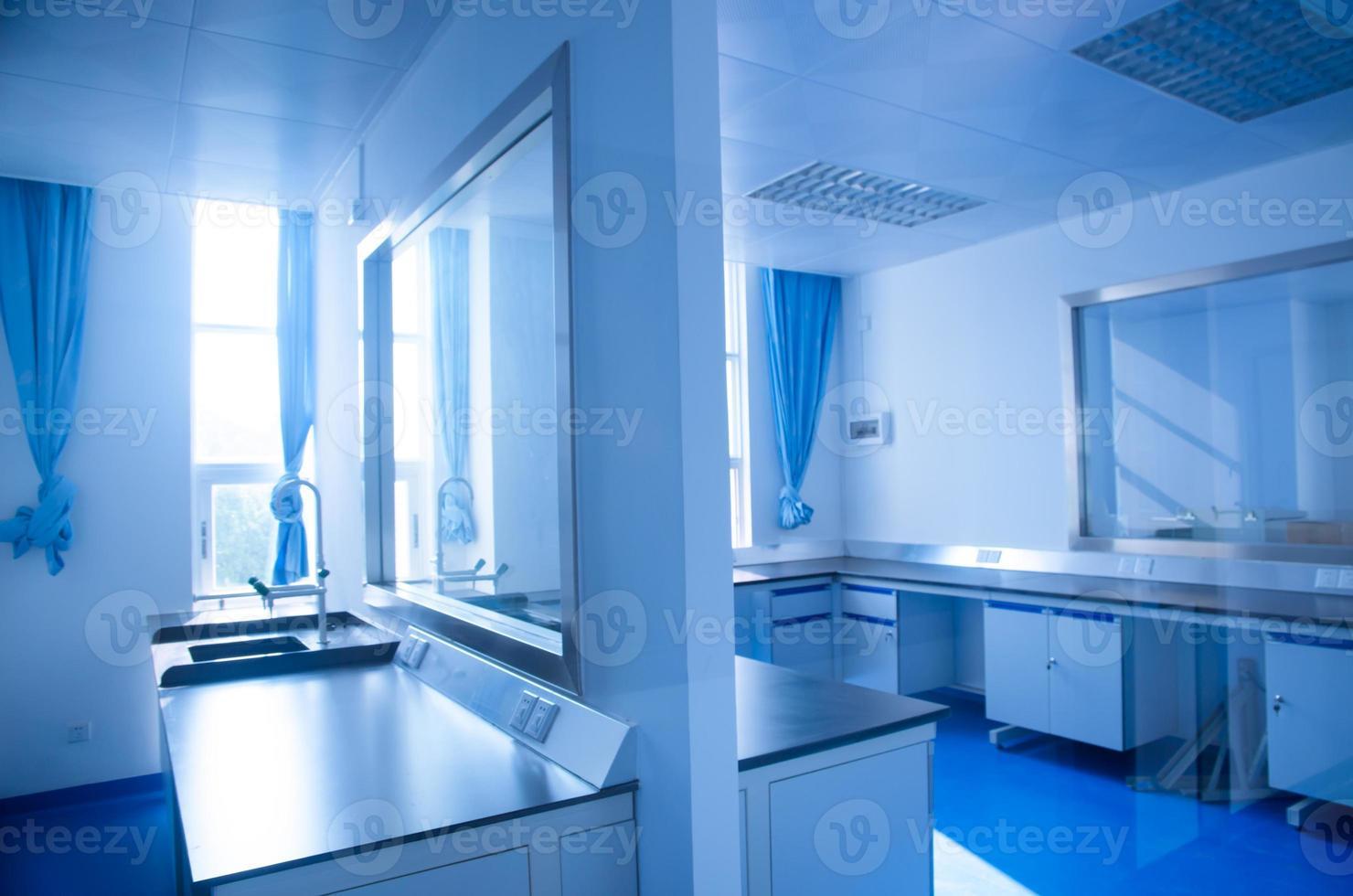 modern wetenschappelijk laboratorium foto