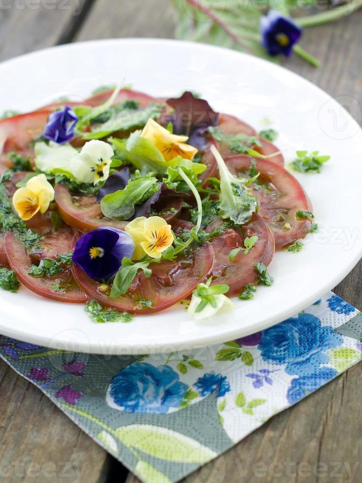 tomaten voorgerecht foto