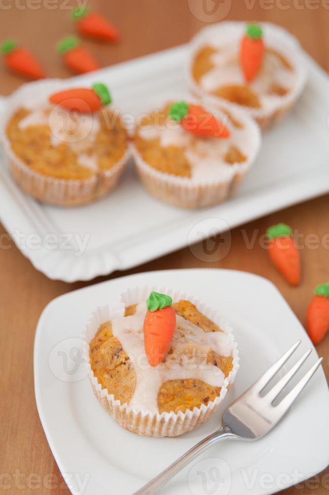 Pasen-muffins foto