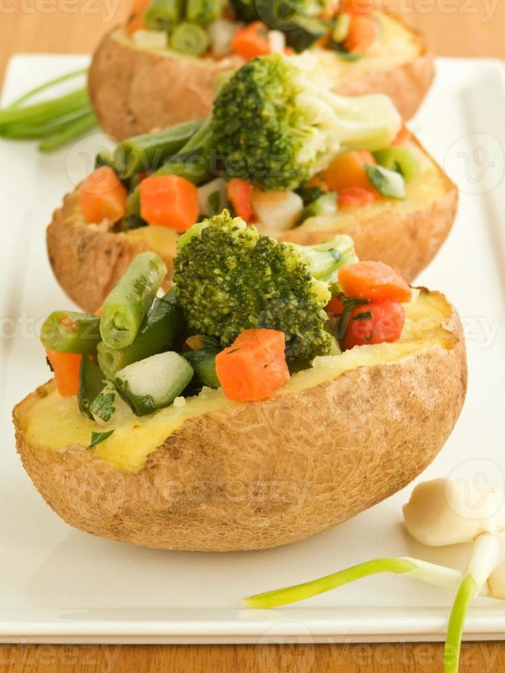 gevulde aardappelen foto